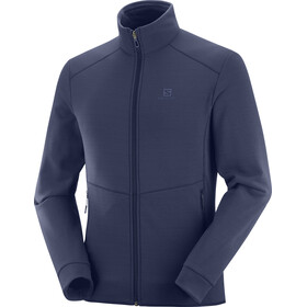 Salomon Radiant Veste zippée Homme, night sky